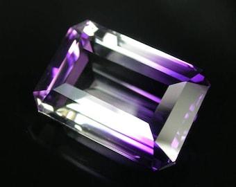 25.5 ctw. bicolor ametrine pendant loose gemstone .