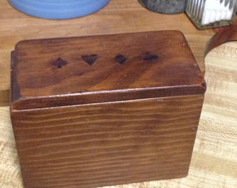 Wood Box, Storage Box