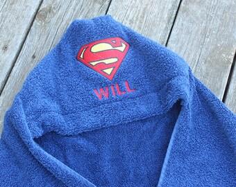 Infant/Kids Hooded Bath Towel - Superman