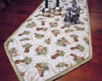 Christmas Music Instrument  Table Runner - Extra Long