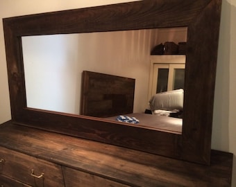 Reclaimed wood mirror - So Cal Special
