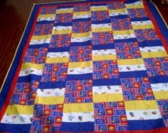 Lap size KU quilt
