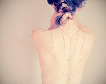 Romance cheyenne back body chain harness ( triangle, cheyenne, wild, brass antiqued, womens, winter acessory ) 19