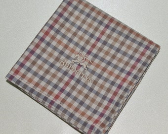 FREE SHIPPING!!! Burberrys Classic Hanky Handkerchief