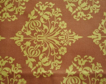 Park Fountains in Brown - Amy Butler - Midwest Modern Half Yard 100% Cotton Fabric