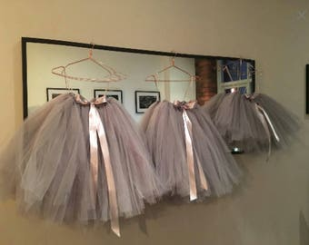 Tutu, girls tutu, flower girl tutu, ballet tutu, bridesmaid tutu, baby tutu, tulle skirt, wedding tutu, flower girl dress, tulle tutu skirt