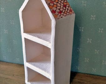 Little Ceramic House with shelves