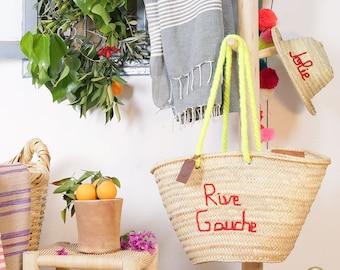 """Original """"Rive Gauche"""" Marrakech basket"""