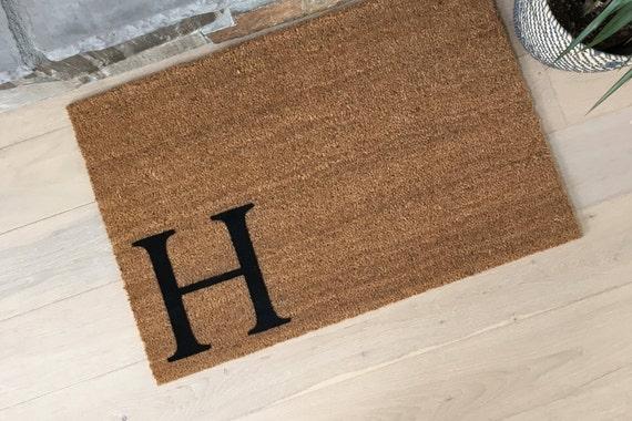 Monogram Doormat - Coir Doormat - Housewarming Gift - Welcome Mat - Cool Door Mats