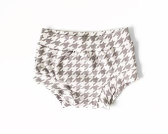Gray Checker Shorties