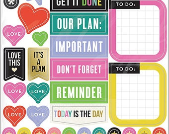 Me and My Big Ideas Create 365 Planner Stickers 5 Sheets -Everyday