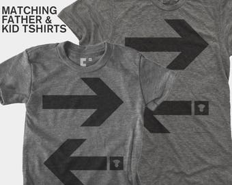 Dad Gift, Father Son Matching Shirts, Arrows, Matching Shirts, Matching Dad Son, Daddy Daughter Shirts, Dad Baby Shirts, Dad Baby Matching