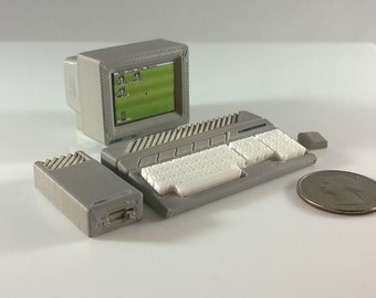 Mini Atari 520 Deluxe Set - 3D Printed!