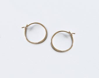 Tiny Hoop Earrings, Dainty silver hoops, Gold Filled Hoop Earrings, Silver Simple Hoops, Minimalist Hoop Earrings, Small Hoop Earrings.