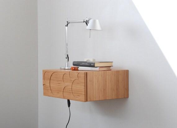 table de chevet console murale avec tiroir mont mi si cle. Black Bedroom Furniture Sets. Home Design Ideas