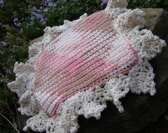 Easy Crochet Pattern Shades of Pemberley Spa Cloth Crochet Lace Wash Cloth Pattern Dish Cloth  Instant Download