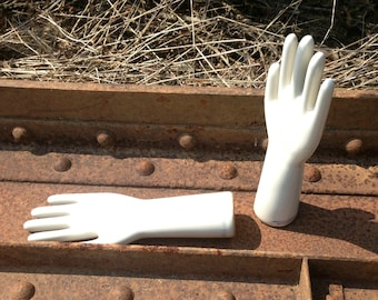 Industrial Porcelain Glove Mold made in USA Shiny Object of Art