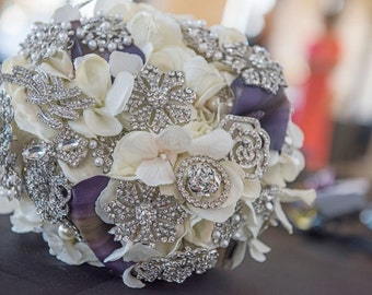 Custom Brooch Bouquet - deposit