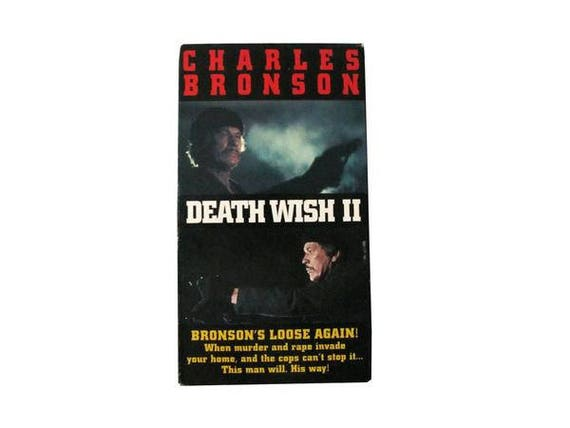 Death Wish II VHS