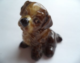 Vintage Wade Whimsie Unsigned Puppy