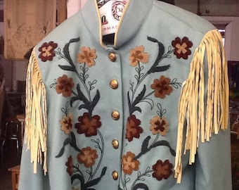 Amazing Women's Western Wool Jacket