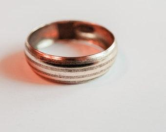 """Gold stripe bracelet 2.75"""" width"""
