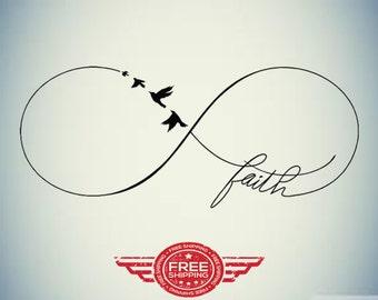 Infinty Faith Decal !
