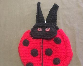 Kids Ladybug Backpack
