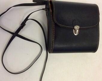 60s Vintage Binocular Bag Crossbody Hard Case