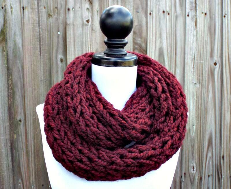 Round Loom Knitting Infinity Scarf Patterns Infiniti Car