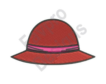 Red Hat - Machine Embroidery Design