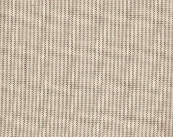 Grey Striped 100% Organic Cotton Fabric