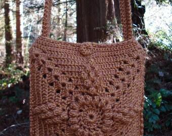 A Burst of Popcorns Bag - PA-217 - Crochet Pattern PDF