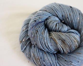 Seth Bullock - House Wren - 85/15 superwash merino/ nylon tweed sock yarn