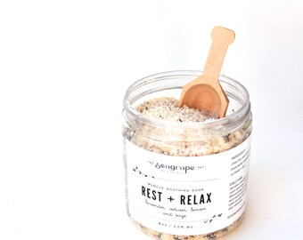 Rest and Relax Bath Soak 8oz