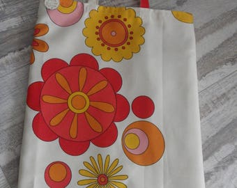 tote bag shopping market - flowers