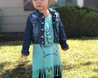 Storm Fringe Dress