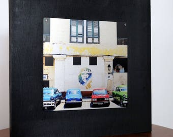 The Revolution - Havana Vieja - Metal Print Photo Mounted on Wood Frame
