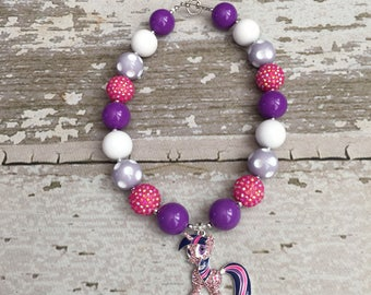 Twilight Sparkle Birthday Outfit - My Little Pony Jewelry - My Little Pony Bracelet - My Little Pony Birthday -Twilight Sparkle Necklace