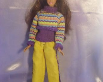 Sports 17 outfit for barbie type dolls