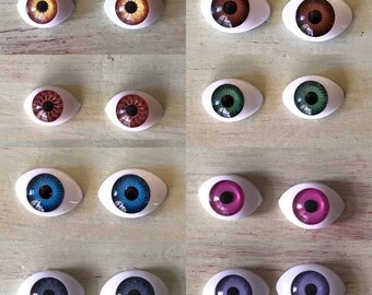Doll Eyes, Stationary Eyes, Fixed Eyes, Wellie Wishers, American Girl Dolls, Eye Swap, Flat eyes, Doll Repair, OOAK, Custom Doll, Reborn