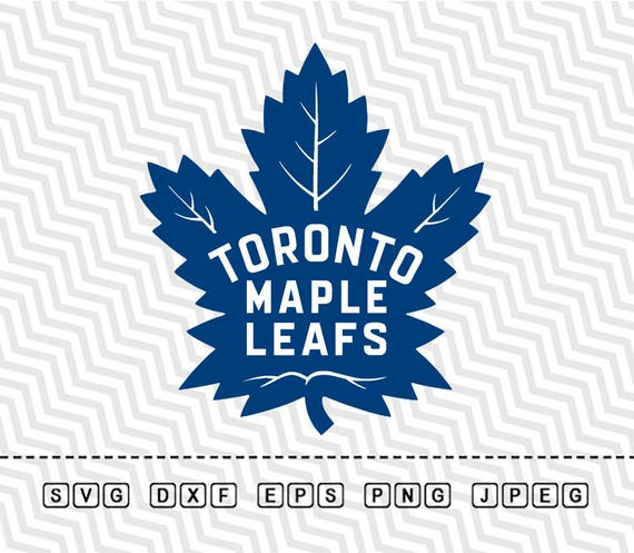 Svg Toronto Maple Leafs Vector Layered Cut File Silhouette