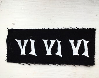 VIVIVI 666 Occult Hand Painted Patch