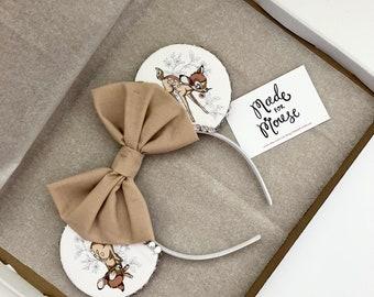 The Fawn - Handmade Mouse Ears Headband