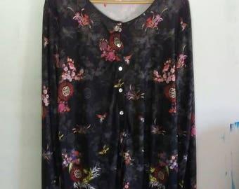 Hipster harajuku japanese minimalist zen hippie silk blouse health goth androgynous button up vaporwave sea punk cool vintage retro