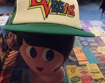 1980s Las Vegas Trucker Hat