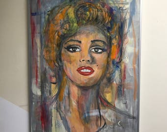 Marilyn Monroe picture Painting