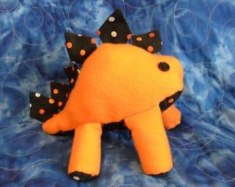 Fall Colored Stegosaurus Plush