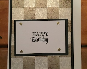 Handwoven Paper Card