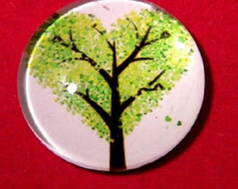 tree of life, 30mm Green heart